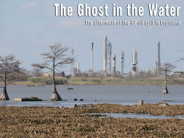 Grand Isle and other Louisiana Gulf coast communities are worried about their future-- worried that a ghost still lurks out in the water. But there is a  bigger, long-term problem that threatens their very existence.<br />