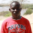 Abel Lotira, 17, of Lodwar, the capital of Turkana District, serves as a translator at the Turkana Basin Institute when he is not in school. He attended primary school in Lodwar and secondary school in Nairobi, where he learned English.