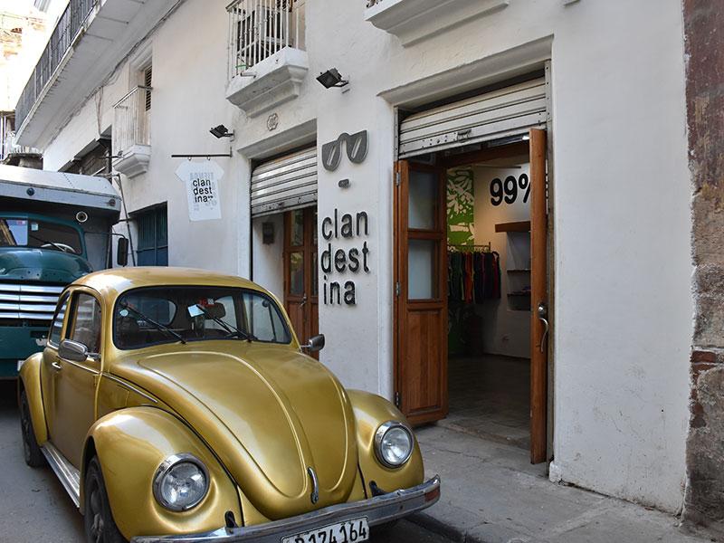 A private design brand blooms in Cuba